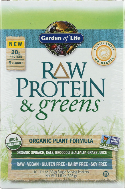 Protein & Greens - Lightly Sweet 10 Count Tray