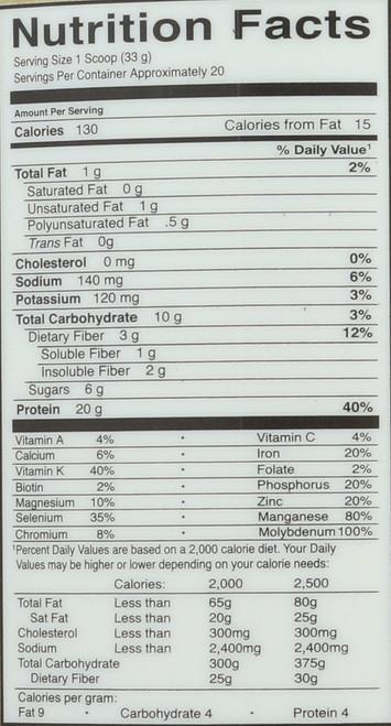 Protein & Greens - Lightly Sweet 651G Powder