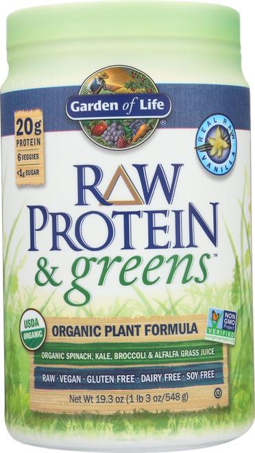 Protein & Greens - Vanilla 548G Powder