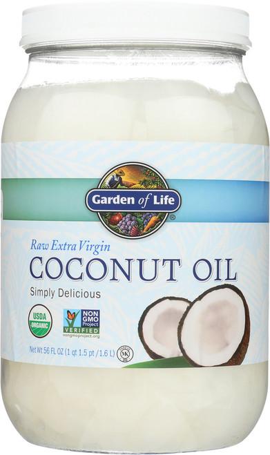 Raw Organic Extra Virgin Coconut Oil 56oz