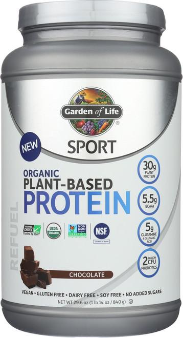 Sport Organic Protein - Chocolate 840G Powder