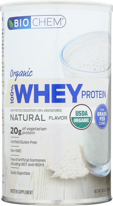 100% Whey Protein Natural Protein Supplement 10.5 Oz