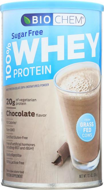Whey Protein Sugar Free Chocolate 12.5 Oz