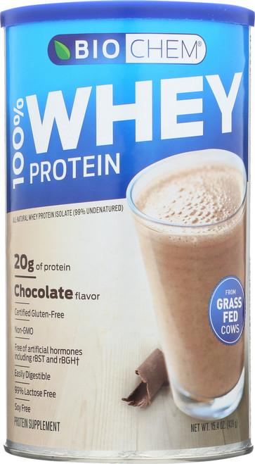 100% Whey Protein Chocolate Protein Supplement 15.4 Oz