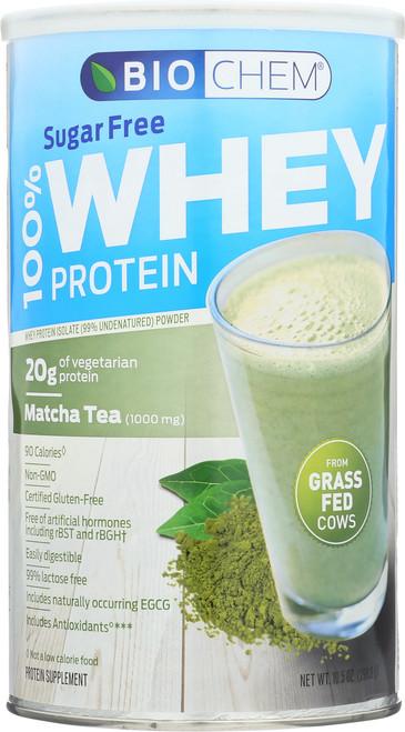 Whey Protein Matcha Tea Sugar Free 10.5 Oz