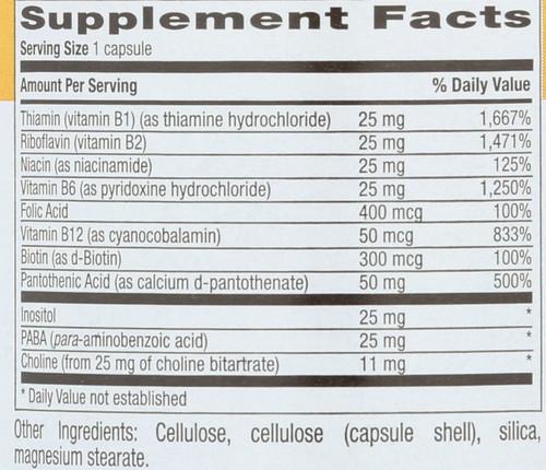 Basic B  90 Vegetarian Capsules