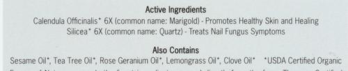 Nail Fungus Control Homeopathic Natural Treatment Organic 0.37oz 11 Ml