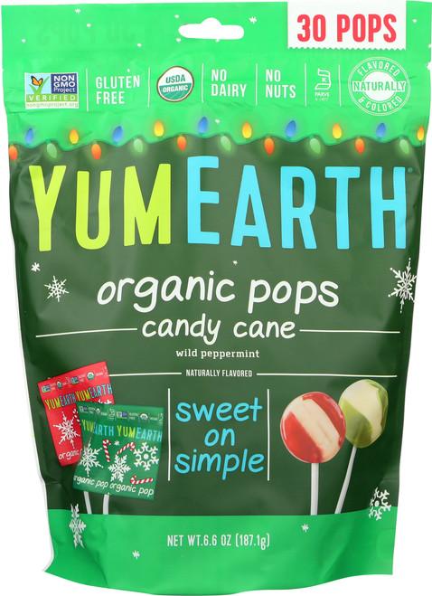 Candy Cane Lollipops Pomegranate Pucker, Mango Tango & Strawberry Smash