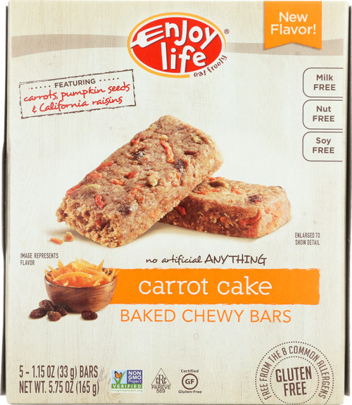 Chewy Bars Carrot Cake