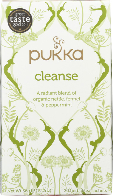 Organic Herbal Tea Cleanse