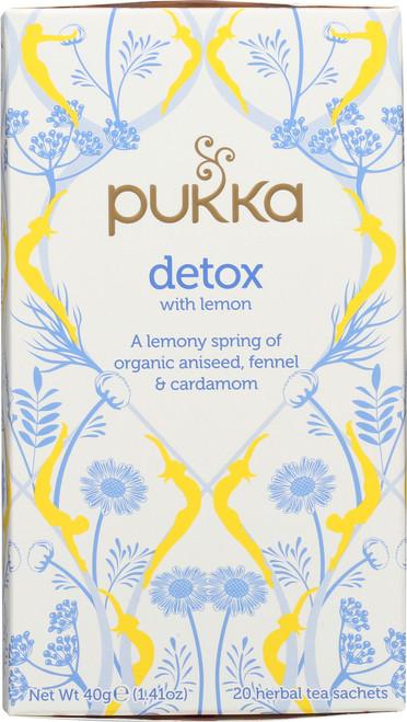 Tea-Org-Detox With Lemon