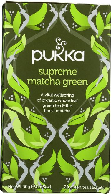Organic Herbal Tea Supreme Matcha Green