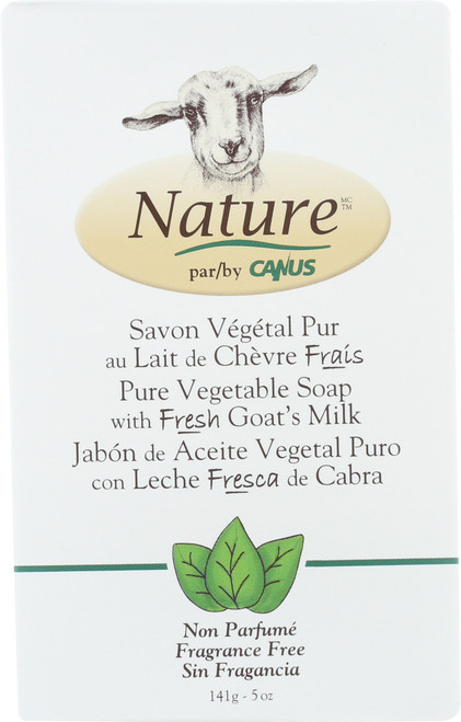 Soap Bar Pure Vegetable Soap With Fresh Goat'S Milk
