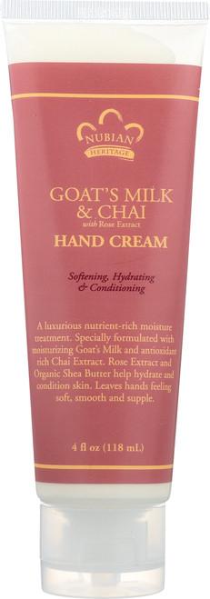 Goat'S Milk Hand Cream Goat'S Milk & Chai