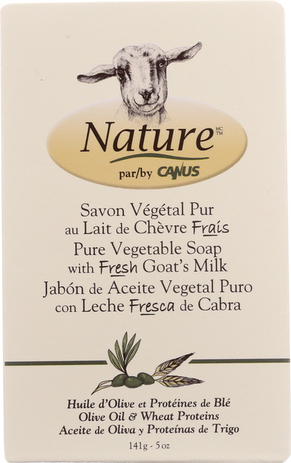 Soap Bar Pure Vegetable Oil Soap With Fresh Goat'S Milk