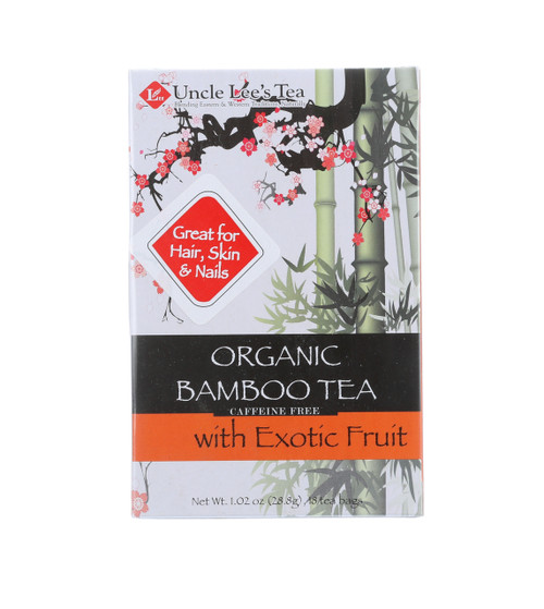 Tea Bamboo With Exotic Fruit