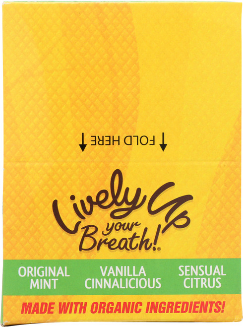 Breath Freshener Original Mint, Sensual Citrus, Vanilla Cinnalicious