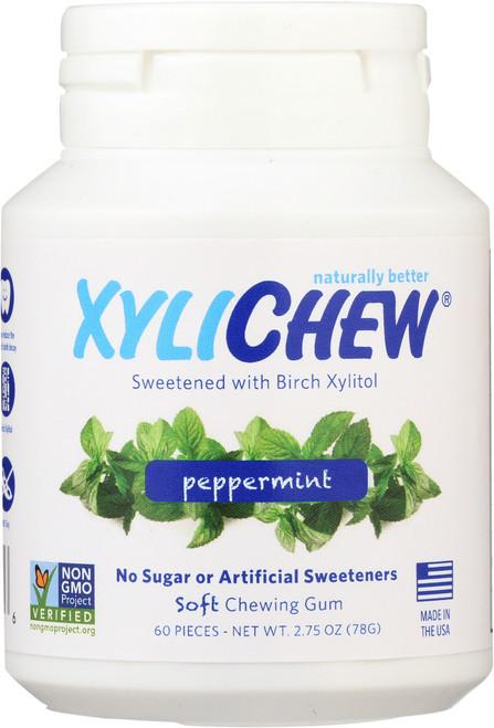 Chewing Gum Peppermint Jar
