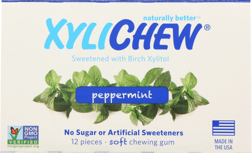 Chewing Gum Peppermint Blister Pack