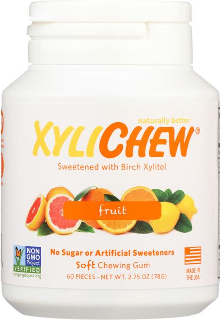 Chewing Gum Fruit Jar