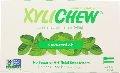 Chewing Gum Spearmint Blister Pack
