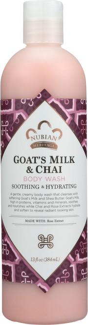 Goat'S Milk Body Wash Goat'S Milk & Chai