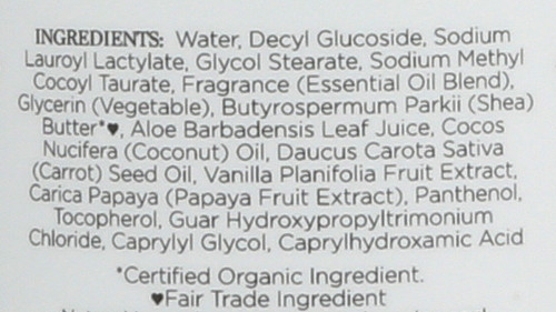 Coconut Papaya Body Wash Coconut & Papaya Body Wash 13 Fl oz 384 Ml