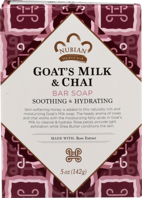 Goat'S Milk Bar Soap Goat'S Milk & Chai