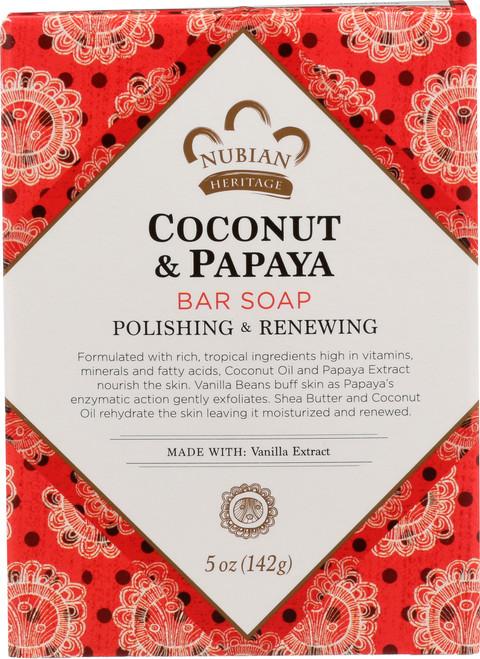 Coconut Papaya Bar Soap Coconut & Papaya