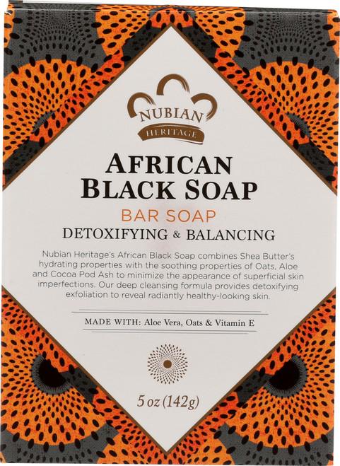 African Black Bar Soap African Black