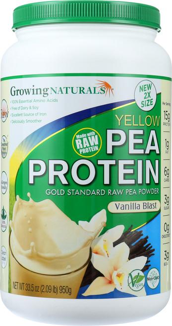 Yellow Pea Protein Vanilla Blast