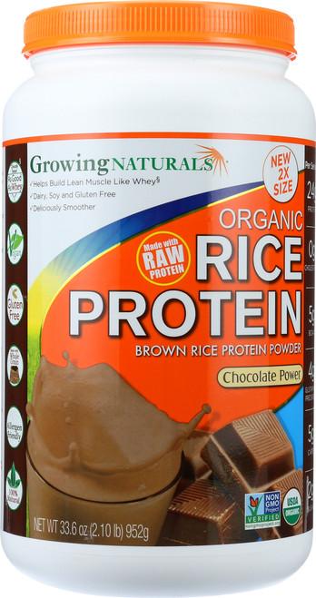 Rice Protein Powder Chocolate