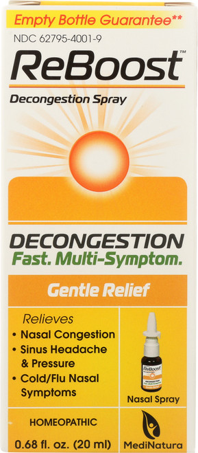 Cold / Flu Reboost™ Decongestion Nasal Spray