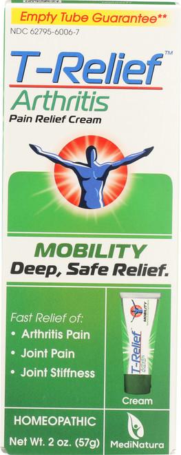 Pain Relief T-Relief Arthritis Pain Relief Cream