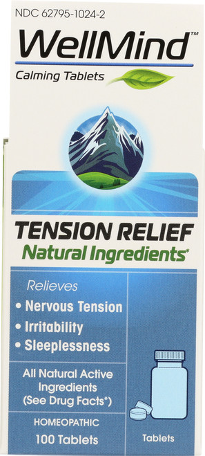 Stress / Memory Wellmind™ Tension Relief Tablets