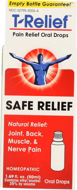 Pain Relief T-Relief Pain Relief Oral Drops