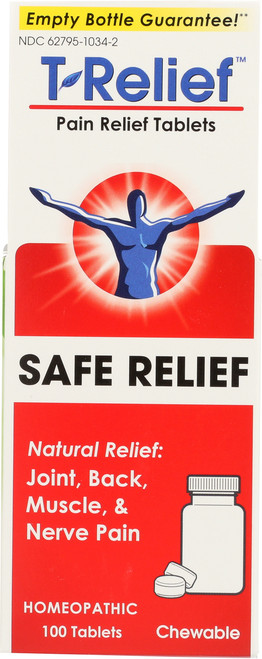 Pain Relief T-Relief Pain Relief Tablets