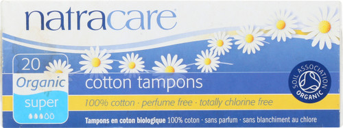 Tampons Cotton Super