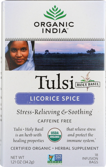 Tulsi Tea Licorice Spice