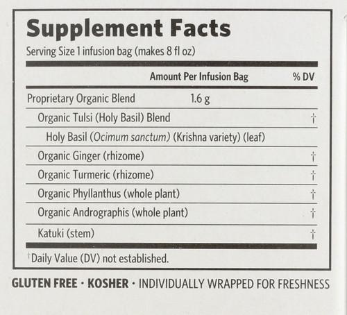 Wellness Tea Tulsi Cleanse 18 Bags 1.02oz