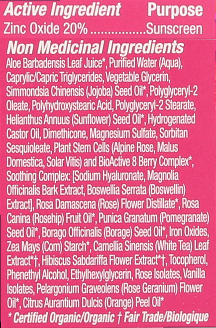1000 Roses® Color + Correct Sheer Tan Spf 30 Sensitive 2 Fl oz 58 Ml