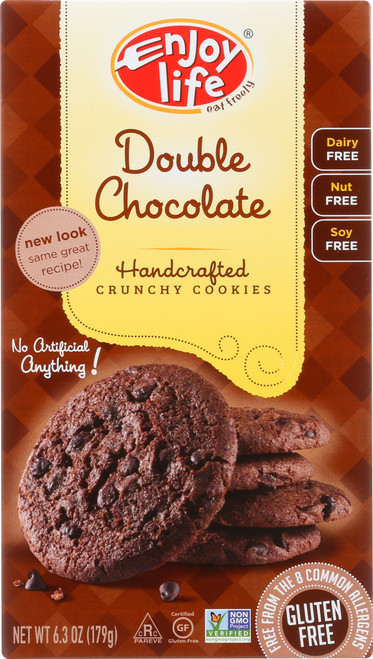 Handcrafted Crunchy Cookies Double Chocolate