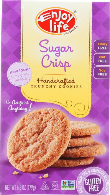 Handcrafted Crunchy Cookies Sugar Crisp