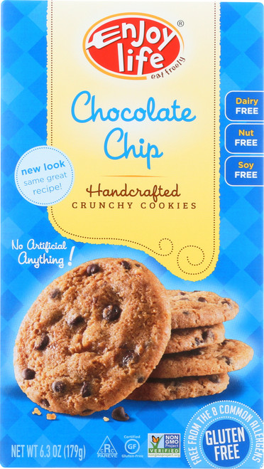 Handcrafted Crunchy Cookies Chocolate Chip