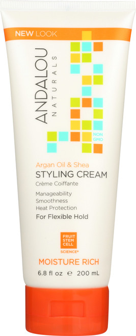 Argan Oil & Shea Moisture Rich Styling Cream Argan & Sweet Orange