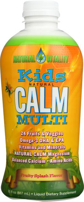 Kids Natural Calm Multi Fruity Splash Flavor