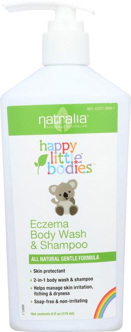 Happy Little Bodies Wash & Shampoo Eczema Body