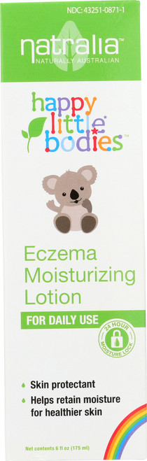 Happy Little Bodies Lotion Eczema Moisturizing