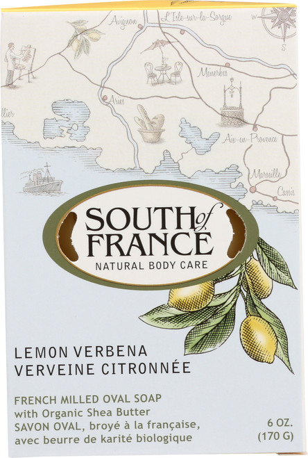 Oval Soap Lemon Verbena