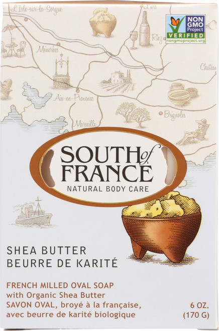 Oval Soap Shea Butter